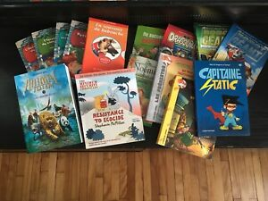 French books for tween/teens