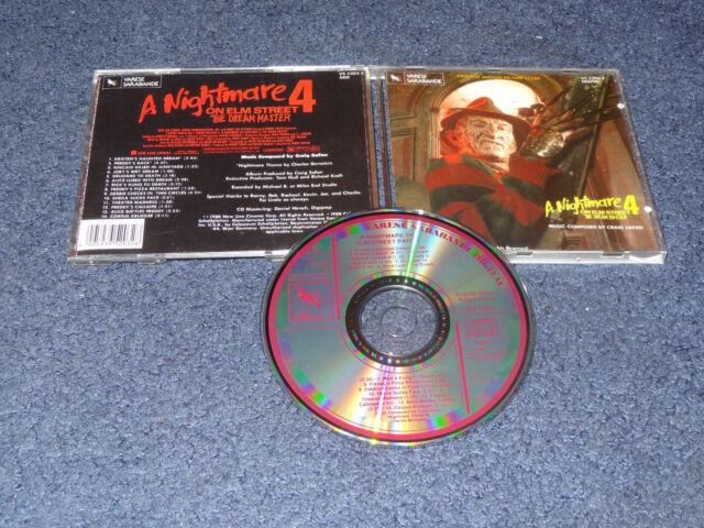 Nightmare on Elm Street 4 Dream Master Film Score CD Craig Safan soundtrack
