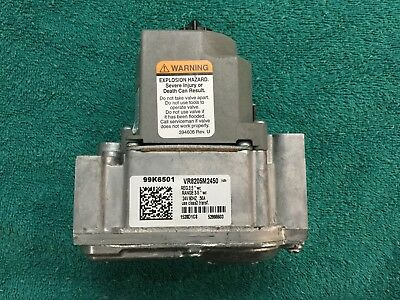 Honeywell Vr8205m2450 Gas Valve Lennox Oem 99k6501