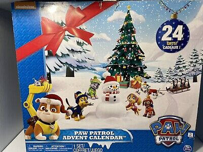 Paw Patrol 24 Days Count Down to Christmas Figure Advent Calendar 2017 Model