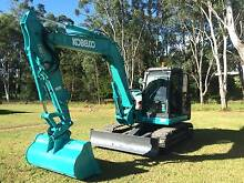 KOBELCO Acera GeoSpec SK80-MR2 Excavator Late Model Very Low Hour Blacktown Blacktown Area Preview
