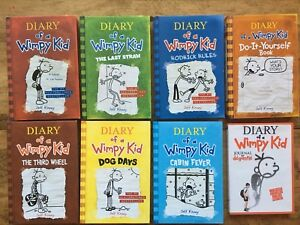 Diary Of A Wimpy Kid Hardcover lot