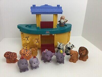 Fisher Price Little People Noah's Ark Animals Mattel 2005