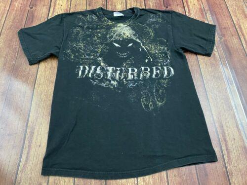 Disturbed Men's Black T-Shirt - Medium - Hard Rock