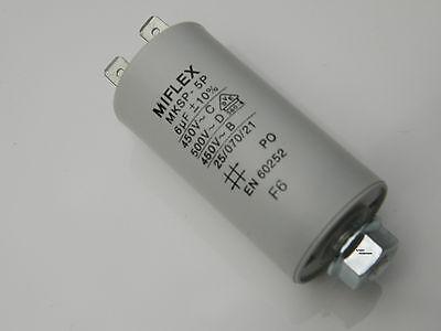 Anlaufkondensator Motorkondensator 25µF 25 uf 450V AC Kondensator Rasenmäher (Kondensator Ac)