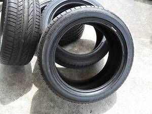 COMMODORE VE/VF TYRES AS NEW 245X45X18 [  5  ] NO WHEELS Wallsend Newcastle Area Preview