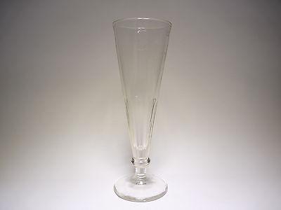 Altes Bierglas 1/4L Pressglas Tulpe Pokal Flöte selten rar , um 1900
