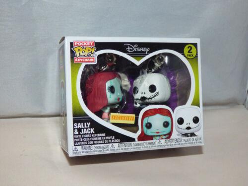 Funko Pocket Pop! Keychain - Disney - Sally & Jack - Box Lunch Exclusive