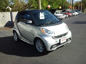 2014 SMART FORTWO ELECTRIC DRIVE PASSION- PANORAMIC SUNROOF, HEA