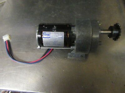 M97 Fasco Drive Motor With Gear Box 110 Hp- 115v Used