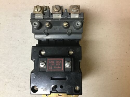 Allen Bradley 702L-BOD93 Lighting Contactor With 120 Volt Coil