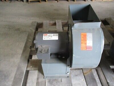 Dayton Blower Model4c118 9 Diameter Wheel With 1hp Motor 429224t New