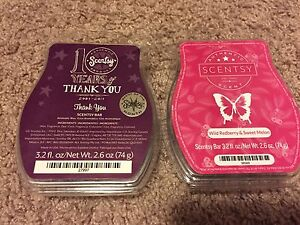Scentsy bars $5 each or 9 for $40