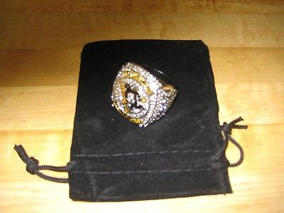 Pitts Penguins (SIDNEY CROSBY PITTS PENGUINS 2016 STANLEY CUP CHAMPS REPLICA RING  TOP QUALITY)