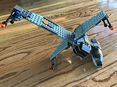 Lego 7180 Star Wars B-Wing at Rebel Control Center, Complete with Instructions