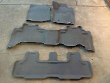 Toyota Land Cruiser parado rubber floor mats an boot liner for sale. Woodville Charles Sturt Area Preview