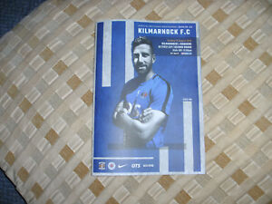 KILMARNOCK v  RANGERS  19/8/2018 OFFICIAL PROGRAMME  ( NOW POSTING )