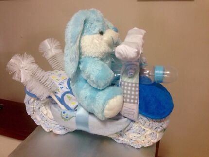 Blue Rabbit Motorcycle Nappy Cake Alexander Heights Wanneroo Area Preview