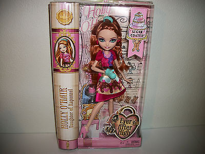 Ever After High Doll Girls Toy Gift New Sealed Sugar Coated Holly O
