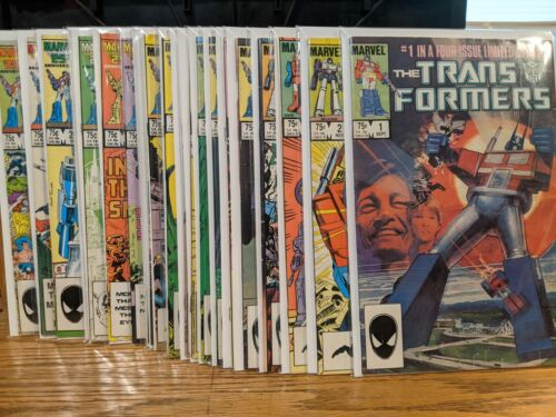 Transformers Volume 1 1-79 Marvel Comics 1984 You Pick Your Issue!