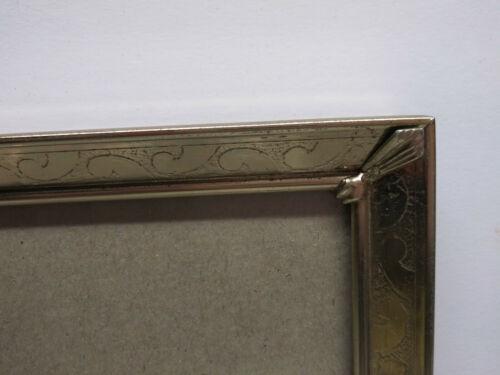 "Ornate Decorative Frame Vintage Victorian Gold Tone Metal 8""x10"""