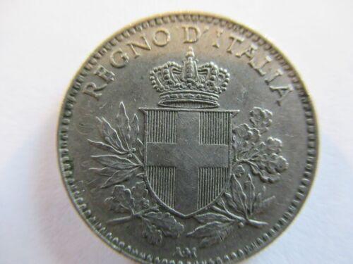 "RARE!!!! Italy 20 Centesimi 1919 Struck On 1894 Coin ""esagono"" RARE!!!! LOOK"