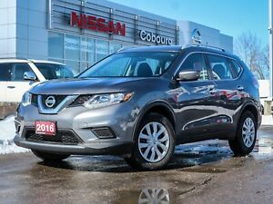 2016 Nissan Rogue S No Accidents One Owner  FREE Delivery