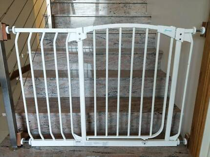 Extra Tall Hallway Baby Gate Plus Extension 135 140cm Wide