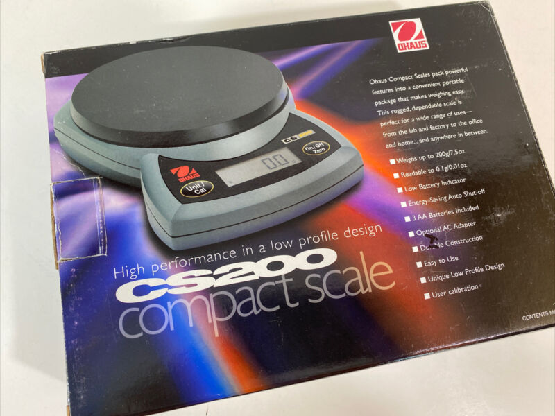 Ohaus CS2000 Digital Compact Bench Scale