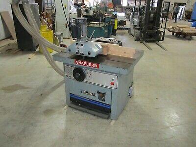 Invicta Shaper Model Ti-14 With Delta Feeder 35 X 43 Table 7.5 Hp