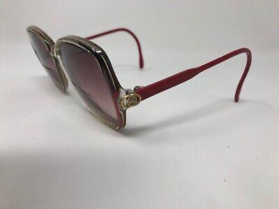 GUCCI VINTAGE Eyeglasses Frame Italy GG2103 67G 53-15-135 Clear/Black Pink RB53