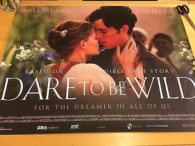 Dare To Be Wild Original UK Quad Cinema Poster 40x30 Tom Hughes Emma Greenwell