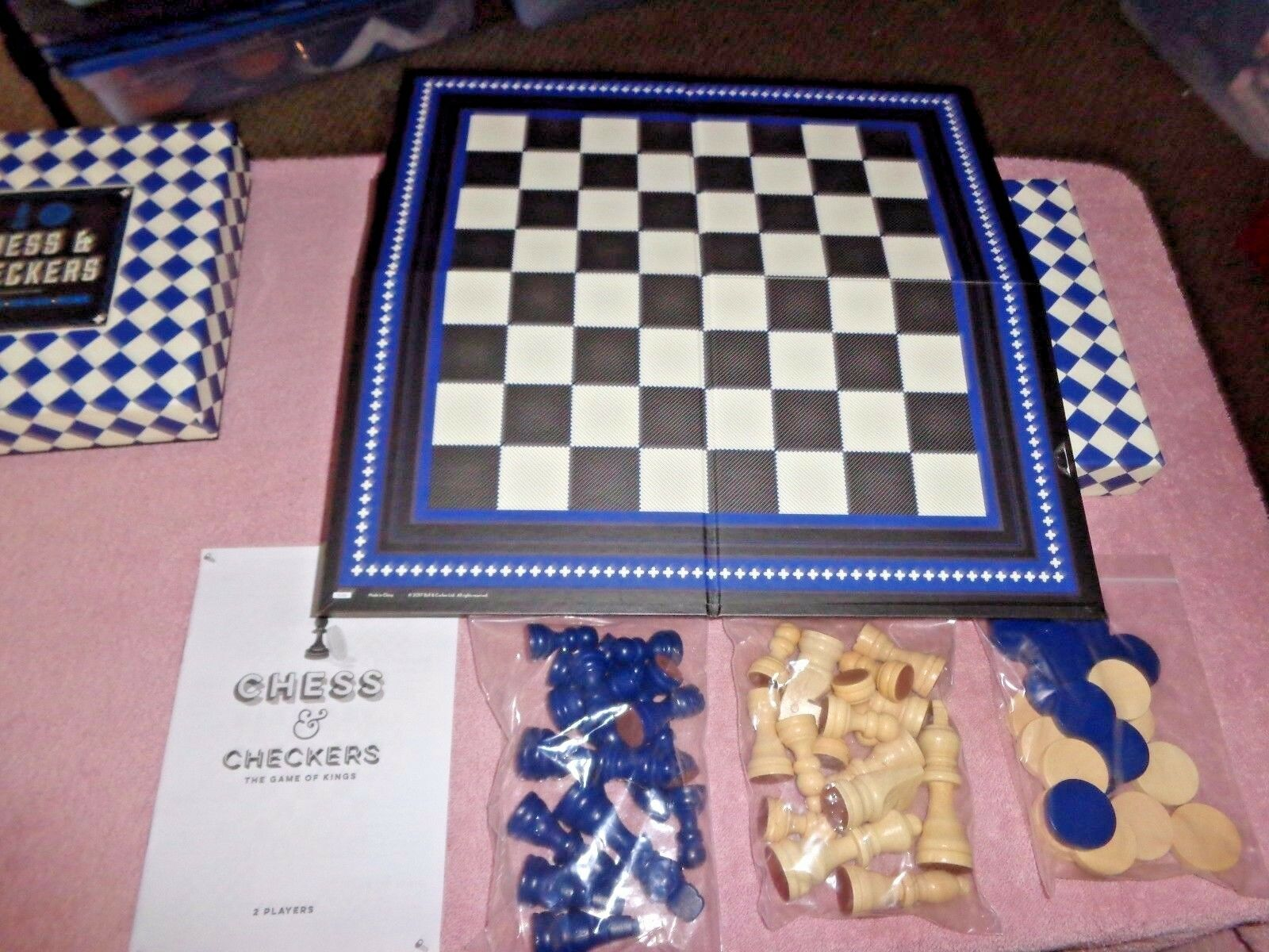 Chess & Checkers Set, Bell & Curfew, Board Games, Game In Ni