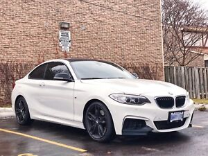 2014 BMW M235i 2dr Cpe RWD White/Red