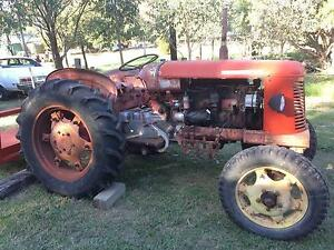 Tractor 1955 David Brown 30C St Helens Park Campbelltown Area Preview