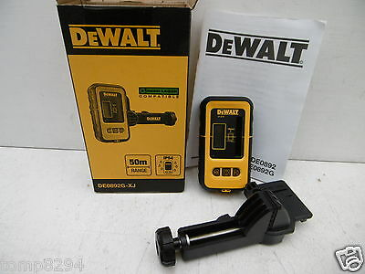 DEWALT DE0892G DETECTOR USE WITH GREEN BEAM LASER LINE LEVELS + FREE GLASSES