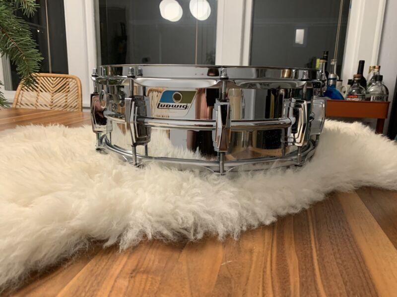 Vintage Ludwig Supraphonic Snare Drum 5x14 70's Clean