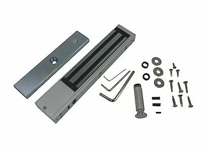 Electromagnetic 600 Lbs Door Lock Magnetic Lock 1224v With L Z Bracket 2 Box