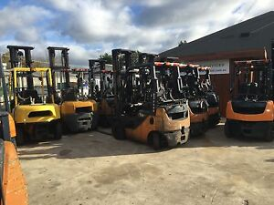 TOYOTA FORKLIFTS 1.5 1.8 2.5 7 AND 8 SERIES FORKLIFTS Melbourne CBD Melbourne City Preview
