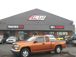 Chevrolet Colorado Cabine allongée, empattement de 125,9 po. LS