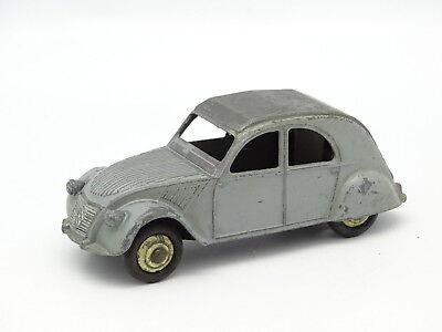 Model Building Automotive 854 Vintage Dinky 24t Citroën 2cv Grey 1:43 Meccano