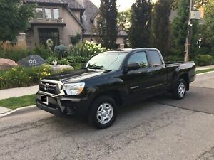 Certified 2013 Toyota Tacoma Trade for Highlander.
