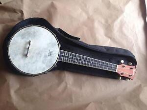 Martinez concert banjo Ukulele Elizabeth East Playford Area Preview