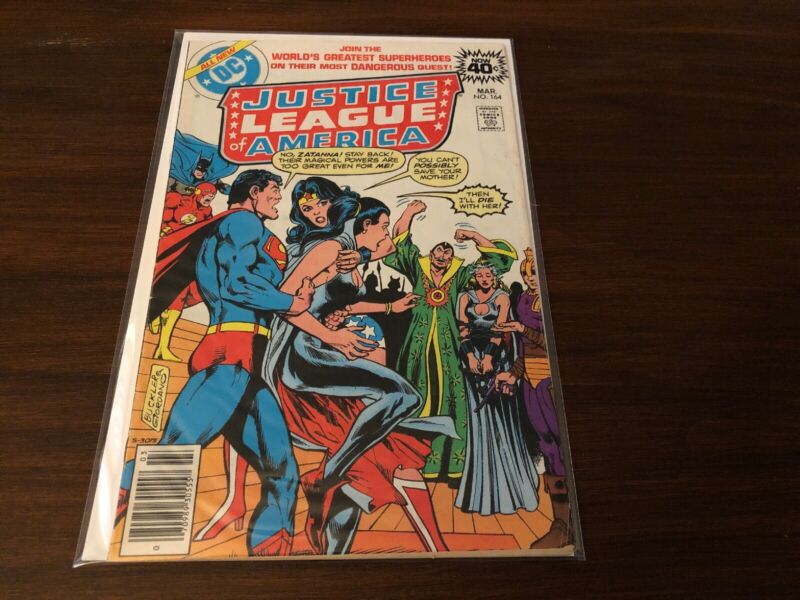 Justice League Of America Lot Of 10 F-Vf