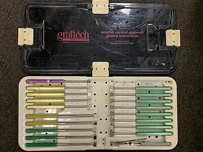 Graftech Various Anterior Cervical Approach Instruments Cervical Spacers