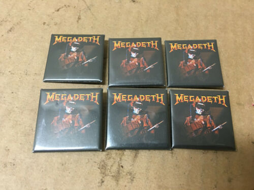C&D Visionary Megadeth So What Soldier Square Button (Pack of 6)