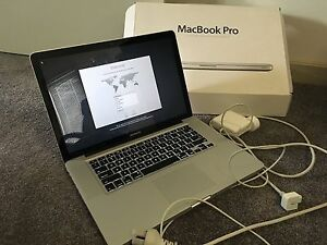 Apple MacBook Pro 15 Inch early 2011 Kensington South Perth Area Preview