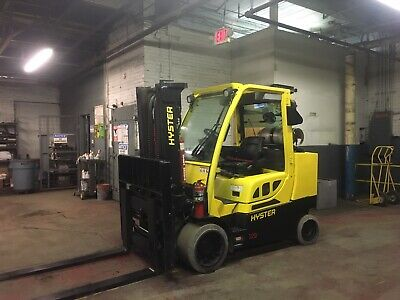 2016 Hyster 12000 Lb Forklift With Side Shift And Fork Positioners
