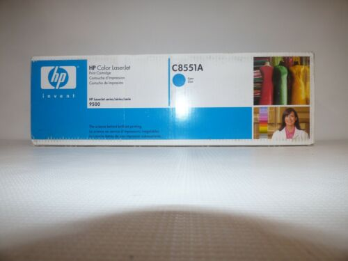 C8551A Cyan Print Cartridge for HP Color LaserJet 9500