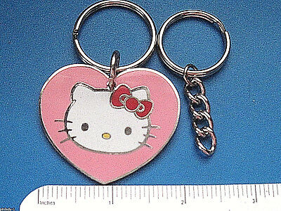 Additional Chain - HELLO KITTY - keychain / comes with additional heavy duty key chain  GIFT BOXED